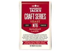 Дрожжи Mangrove Jack's Craft Bavarian Lager M-76