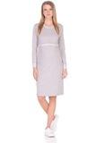 Платье 09967 светло-серый