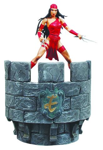 Electra. Marvel Select Figure || Коллекционная фигурка Электра