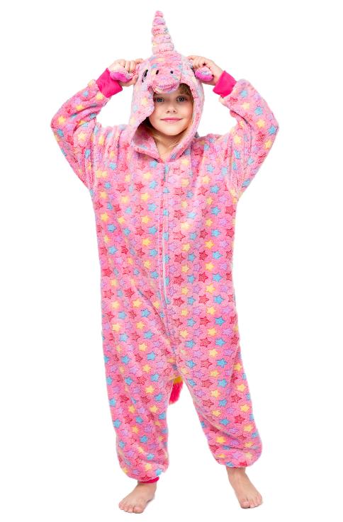 """Детские пижамы кигуруми """"Единорог Pink Star"""" Единорог_Pink_Star__детский.png"""