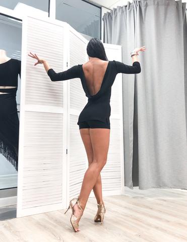 Платье-туника с качелью