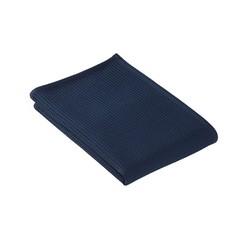 Полотенце для сауны Vossen 80x220 Vossen Rom Pique-U темно-синее