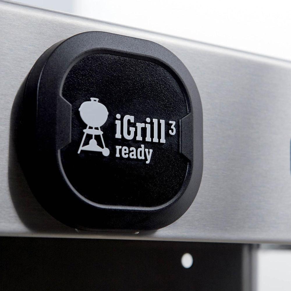 Гриль газовый GENESIS II E-310 GBS, черный