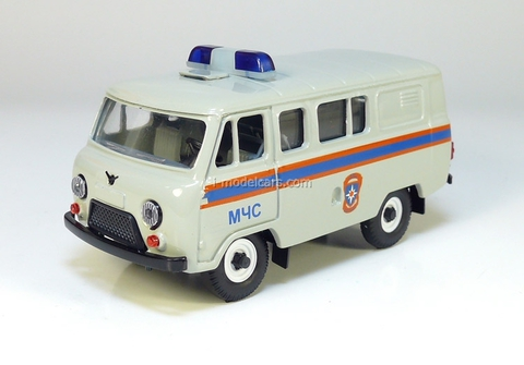 UAZ-39099 Ministry of Emergency Situations Agat Mossar Tantal 1:43