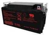 Аккумулятор WBR GP 12650 ( 12V 65Ah / 12В 65Ач ) - фотография