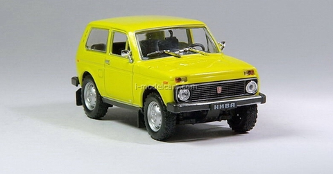 VAZ-2121 Niva Lada yellow 1:43 DeAgostini Auto Legends USSR #10