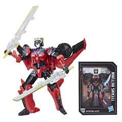 Робот - трансформер  Виндблейд (Windblade and Scorchfire) Делюкс класс - Возвращение Титанов , Hasbro