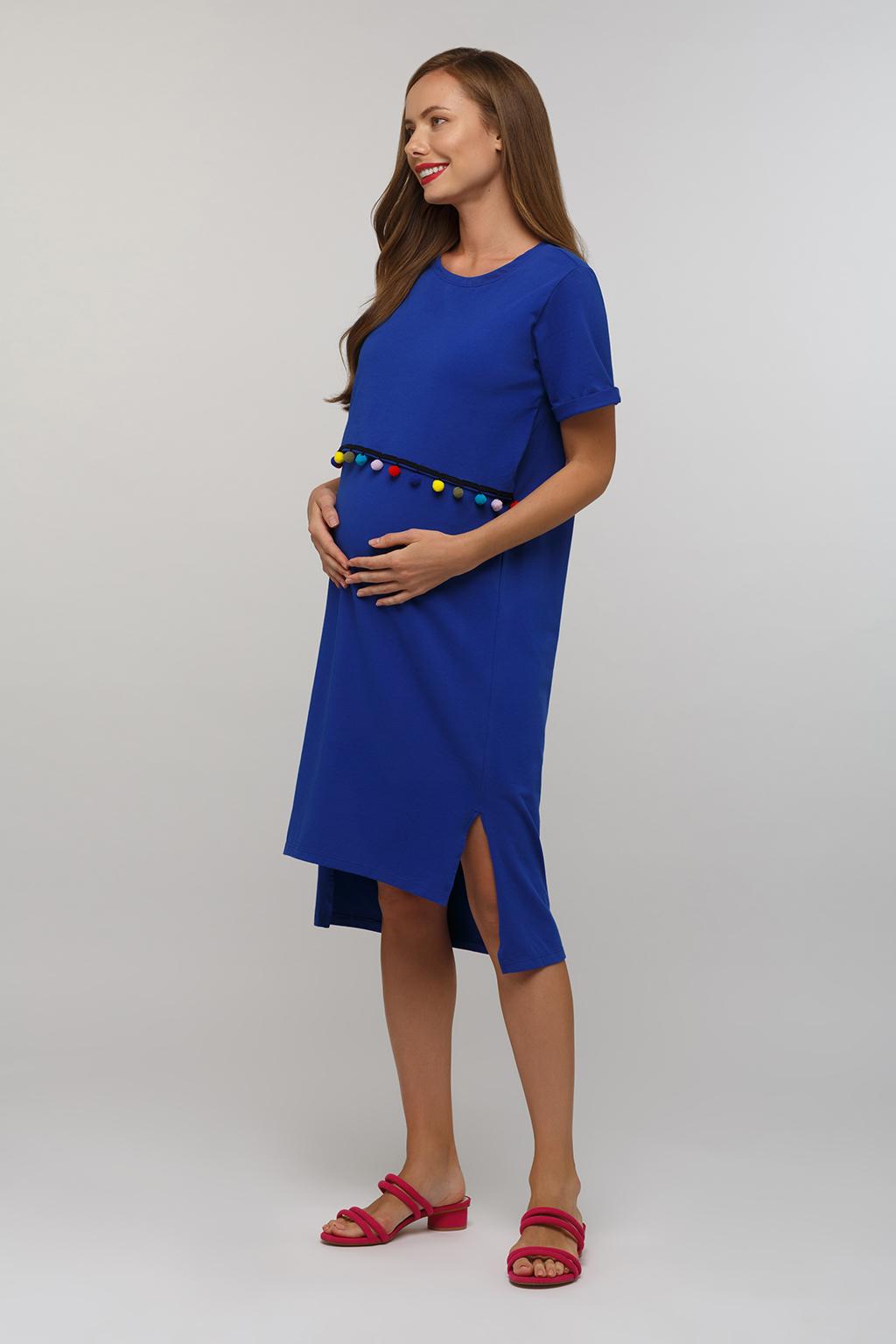 Платье-футболка для будущих и кормящих мам