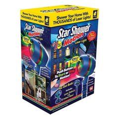 Лазерный Проектор Star Shower, motion