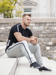 Мужские брюки Nebbia 154 light grey