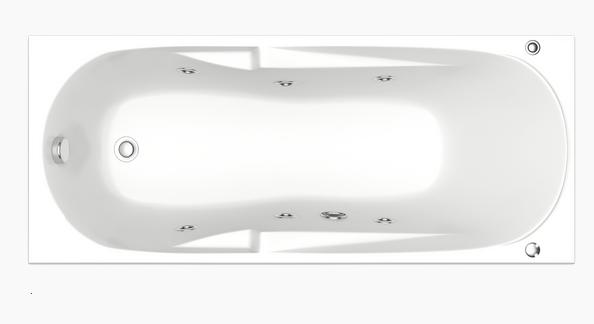 Ванна акриловая BAS Ибица 150х70 без гидромассажа