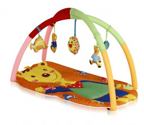 Игровой коврик для новорожденных  Lorelli  Жираф