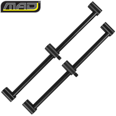 Комплект перекладин для 3 удилищ MAD BLACK ALUMINIUM Buzzer Bar 3 Rod / 2шт.