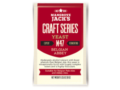 Дрожжи Mangrove Jack's Craft Belgian Abbey M-47