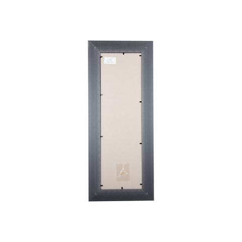 Фоторамка Ампир (с паспарту) 15х50 Формат-А (серебро) (3 паспарту 10x15)