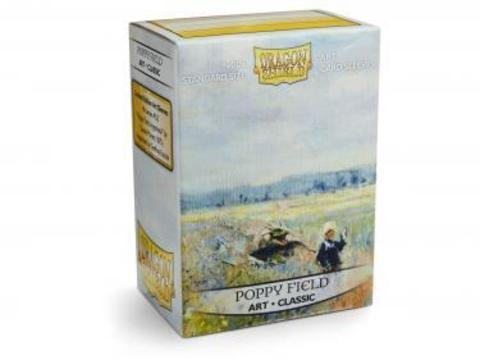 Протекторы Dragon Shield - Poppy Field (100 шт.)