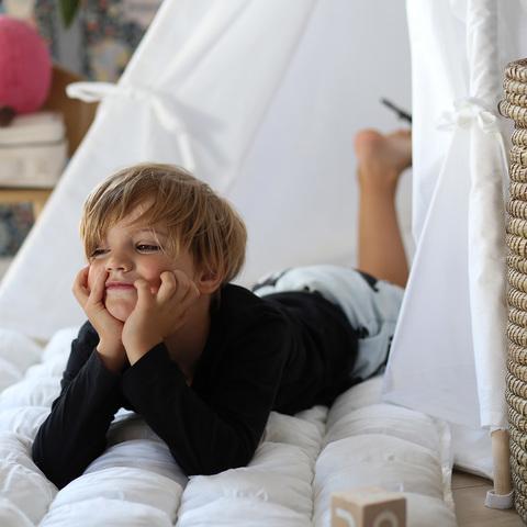Вигвам White Tipi  (детский игровой домик, палатка)
