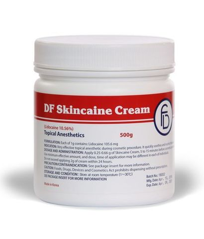 DF Skincaine Cream (Lidocaine 10,56%) 500 гр.