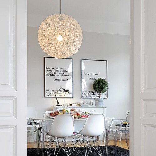 replica moooi moooi random pendant lamp white d40. Black Bedroom Furniture Sets. Home Design Ideas