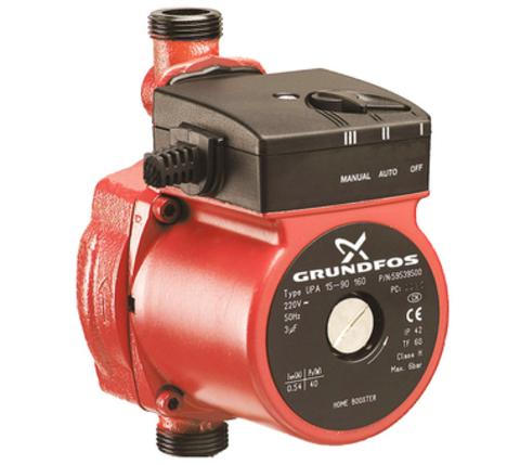 Повысительный насос для водоснабжения Grundfos UPA 15-90 Grundfos