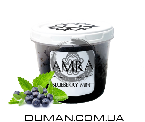 Табак Amra Blueberry Mint (Амра Черника мята) |Sun 25г
