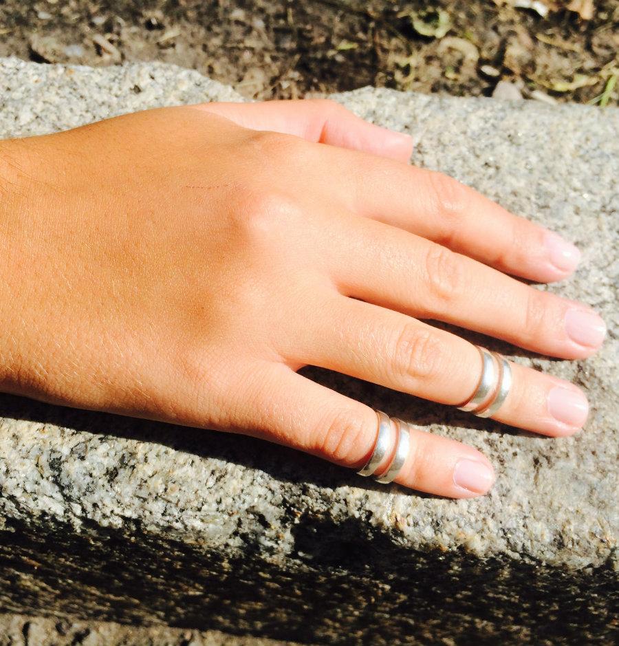 Ring Mid finger, Sterling silver