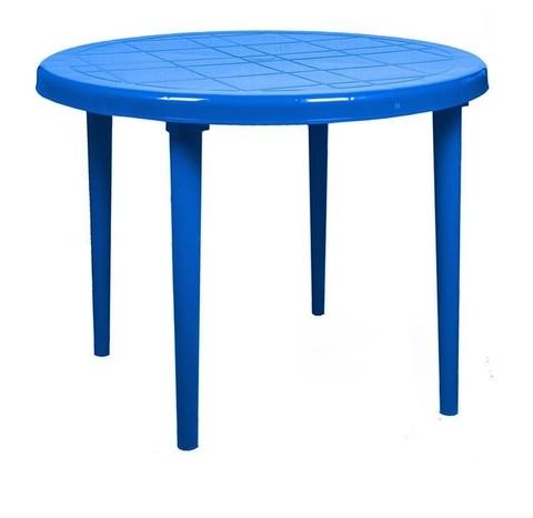 Стол круглый д-900. Цвет: Синий