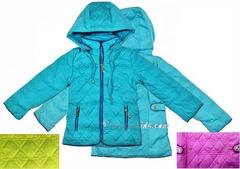 AD6430 куртка стеганный узор