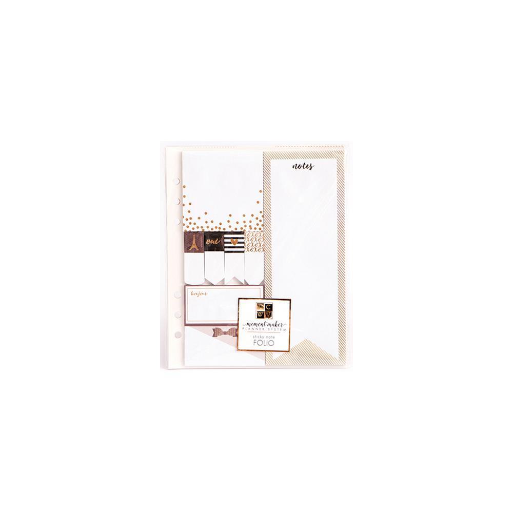 Блок стикеров для записи -DCWV Moment Maker Planner System-Sticky Note Pads