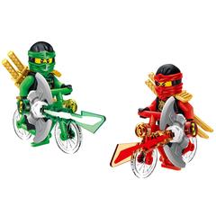 Минифигурки Ниндзяго Ниндзя на велосипедах серия 173