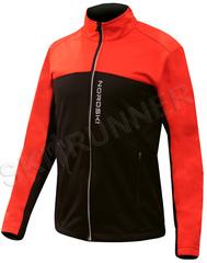 Детская тёплая лыжная куртка Nordski Active Red-Black 2020