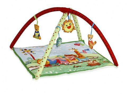 Развивающий коврик для новорожденных  Lorelli  Паровозик