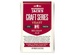 Дрожжи Mangrove Jack's Craft Belgian Ale M-41