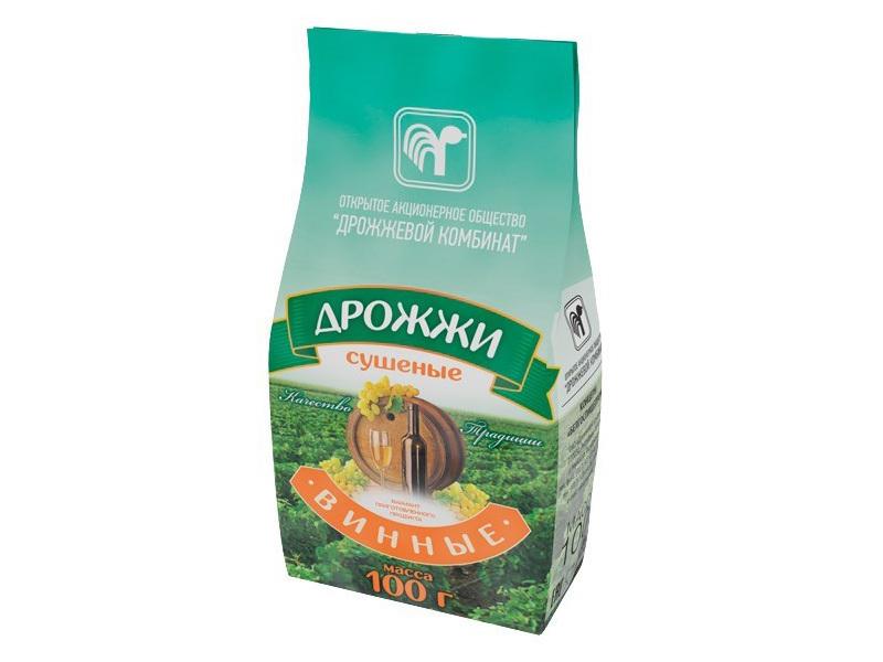 Дрожжи спиртовые Дрожжи винные Белорусские, 100 гр 2.png