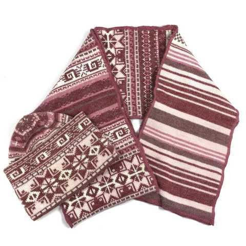 Комплект шапка и шарф CZAPKI на 3-5 лет