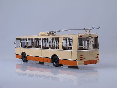 ZIU-9 trolleybus 1:43 Start Scale Models (SSM)