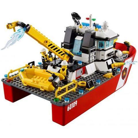 LEGO City: Пожарный катер 60109