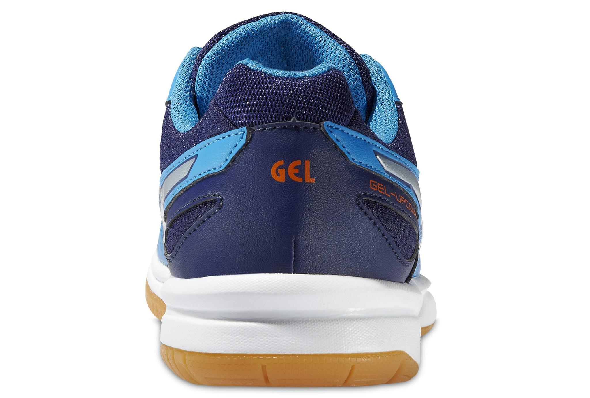 Детские кроссовки для волейбола  Asics Gel-Upcourt GS (C413N 4193) синие