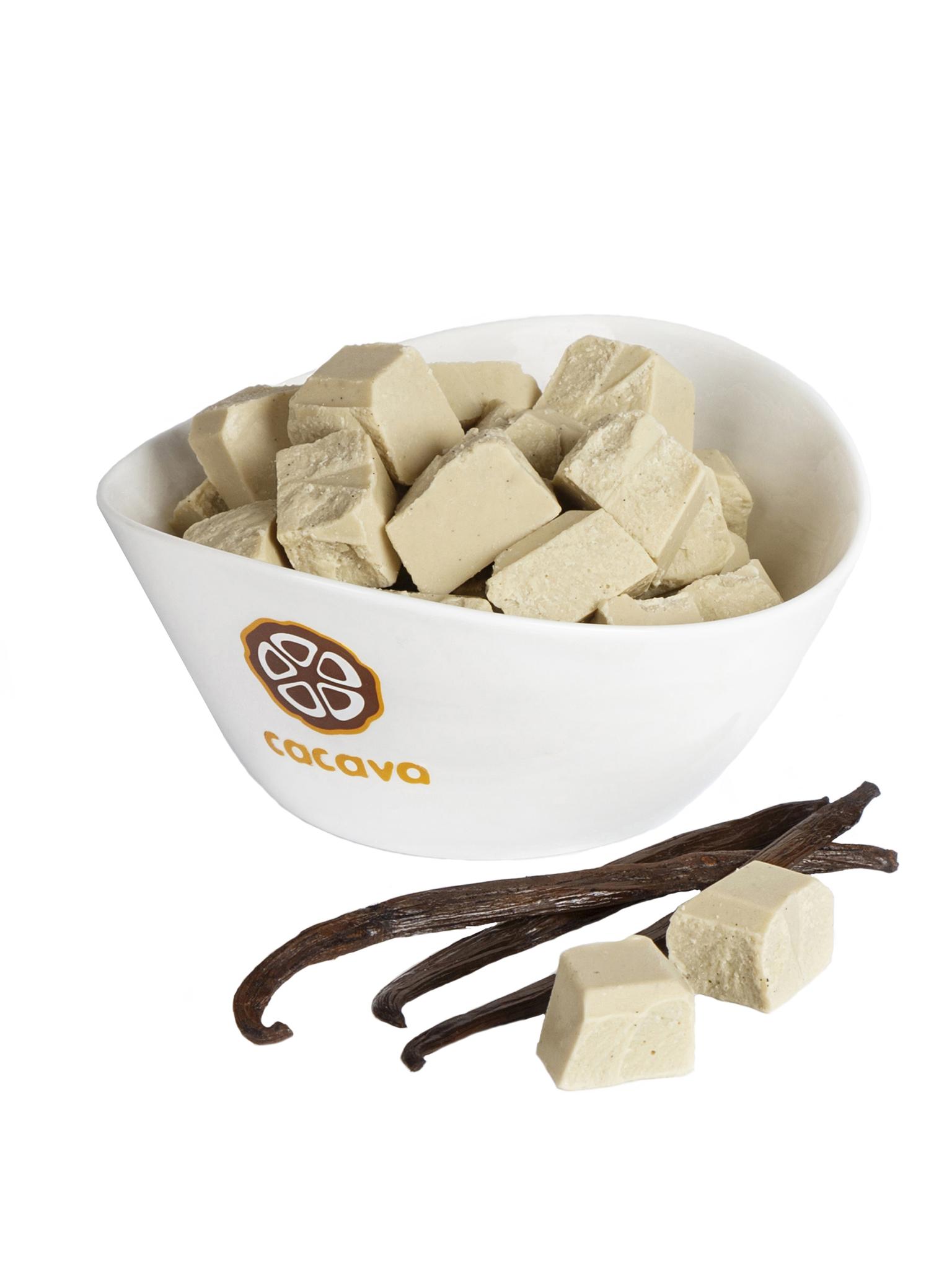 Белый шоколад с мадагаскарской ванилью, внешний вид