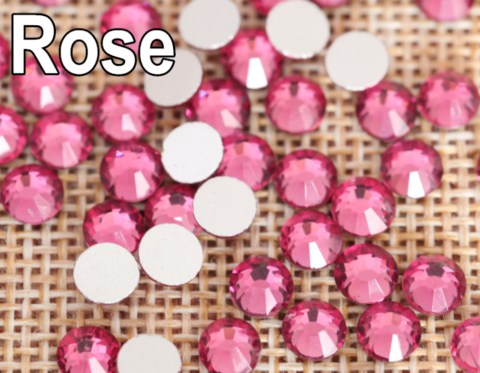 Стразы SS5 роза 100 шт