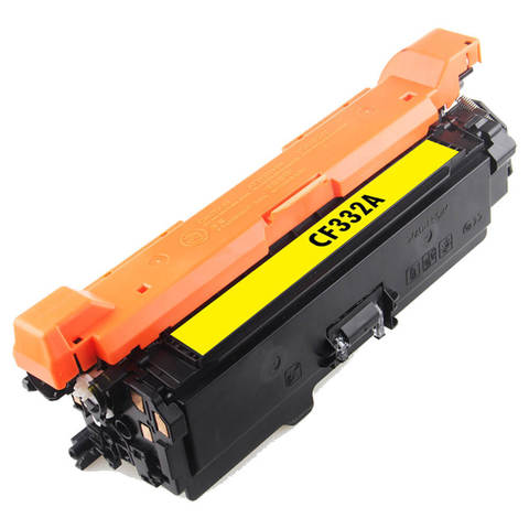 Совместимый картридж CF332A для HP LJ Color Enterprise M651 15K Yellow Gray Box