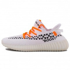 Мужские Adidas Yeezy Boost 350 V2 x OFF-White Custom White
