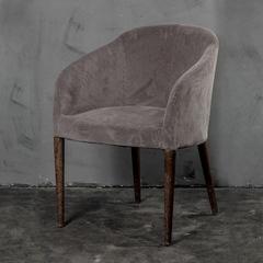 Кресло Roomers Корд светло-серое