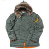 Куртка Аляска  Nord Storm N-3B Husky (зеленая - s.green/orange)