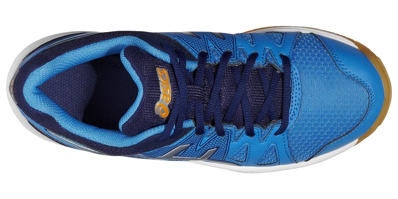 Детские волейбольные кроссовки для мальчика Asics Gel-Upcourt GS (C413N 4193) синие фото