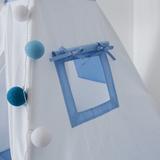 Вигвам Blue Tipi (детский игровой домик, палатка)
