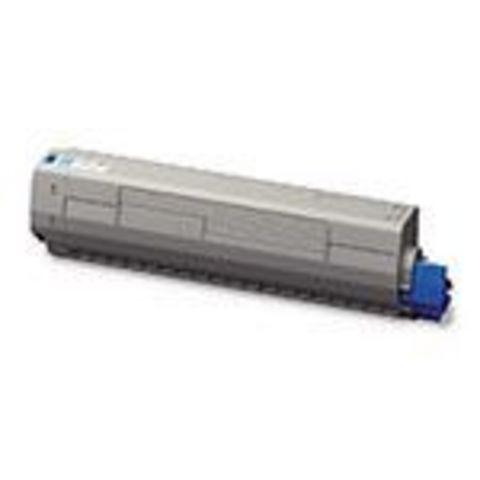 Голубой тонер-картридж для OKI MC873. Ресурс 10000 стр (45862816/45862847)