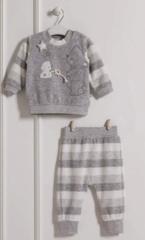 Комплект 2 предмета свитер и штаны (велюровый)