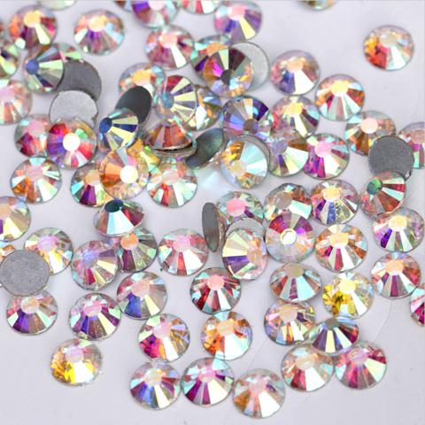 Стразы SS4 AB переливающийся кристалл 100 шт