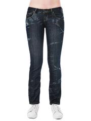 5541 джинсы женские, темно-синие